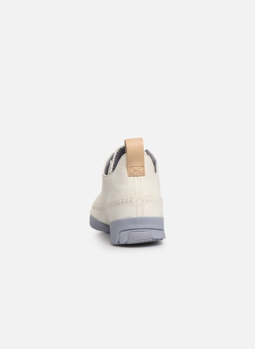 Deportivas Clarks Originals Trigenic Flex W Blanco vista lateral derecha