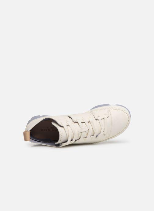Sneakers Clarks Originals Trigenic Flex W Wit links