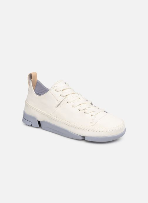 Baskets Clarks Originals Trigenic Flex W Blanc vue détail/paire