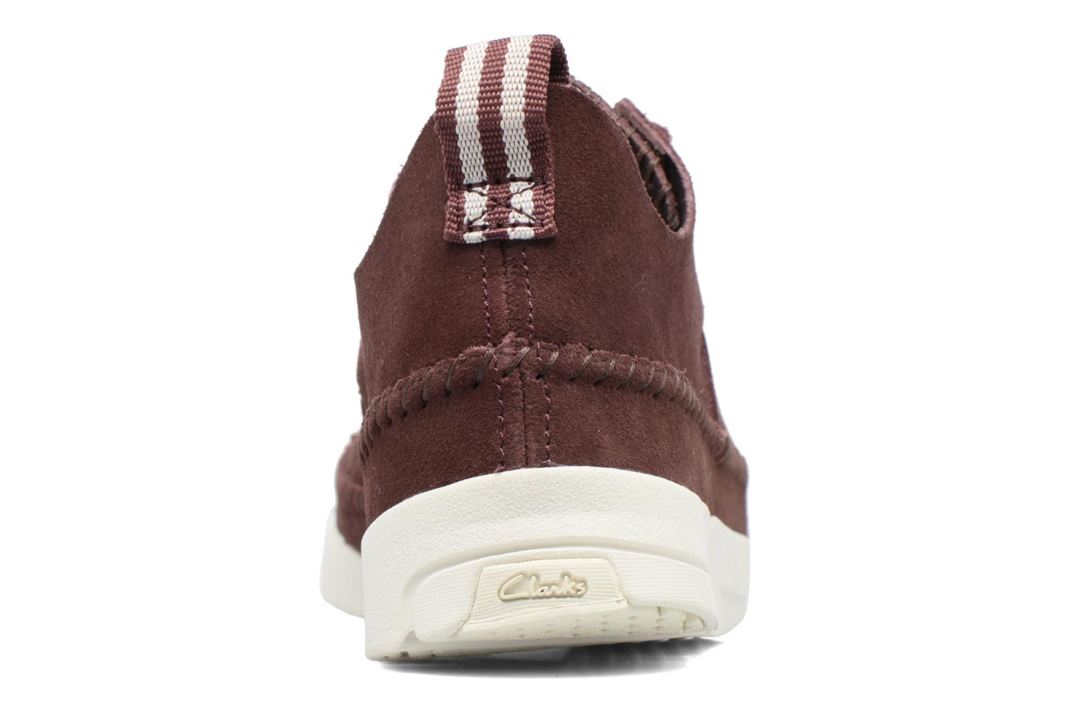 Baskets Clarks Originals Trigenic Flex W Bordeaux vue droite
