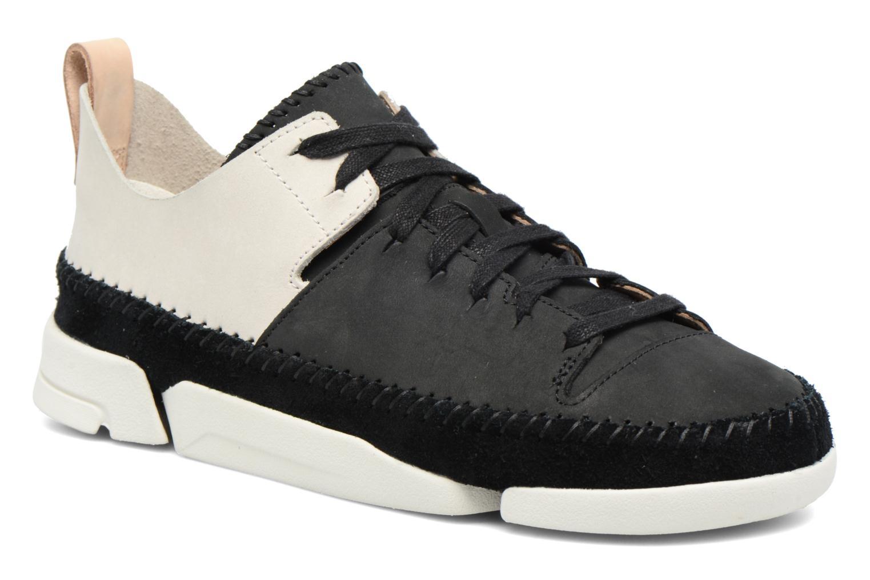 Baskets Clarks Originals Trigenic Flex W Noir vue détail/paire