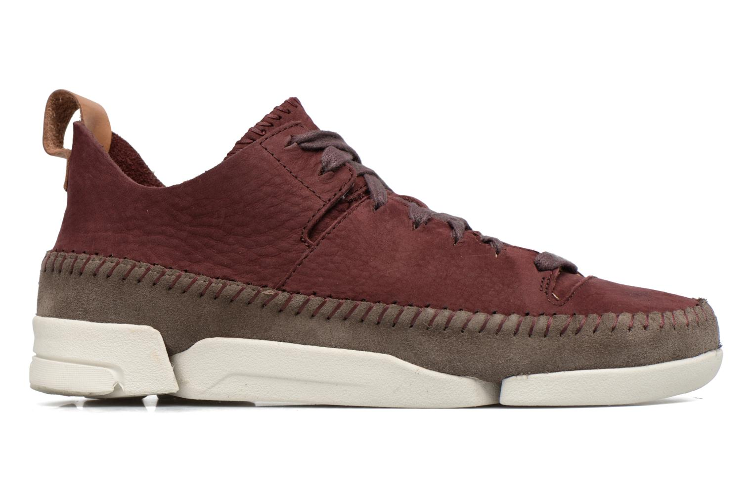 Baskets Clarks Originals Trigenic Flex W Bordeaux vue derrière