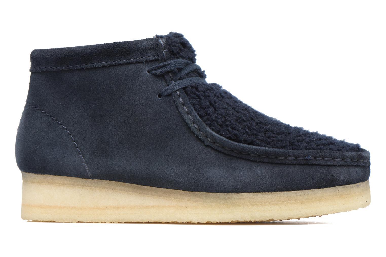Zapatos con cordones Clarks Originals Wallabee Boot W Azul vistra trasera