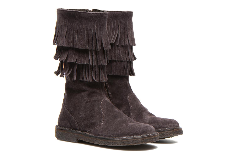 Boots & wellies PèPè Jade Purple 3/4 view