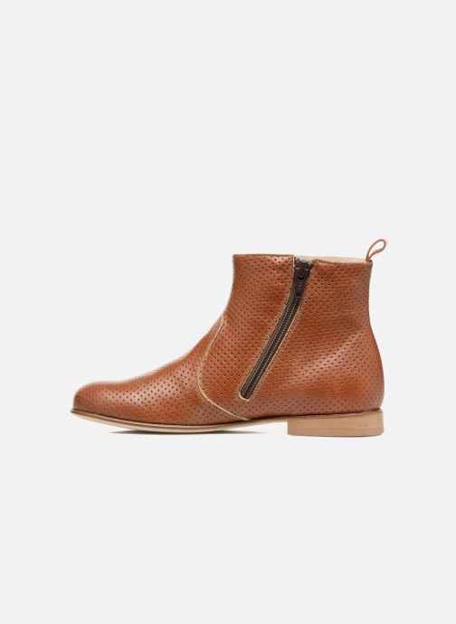 Boots en enkellaarsjes PèPè Zoé Bruin voorkant