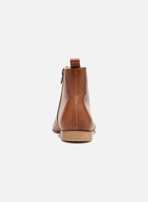 Bottines et boots PèPè Zoé Marron vue droite