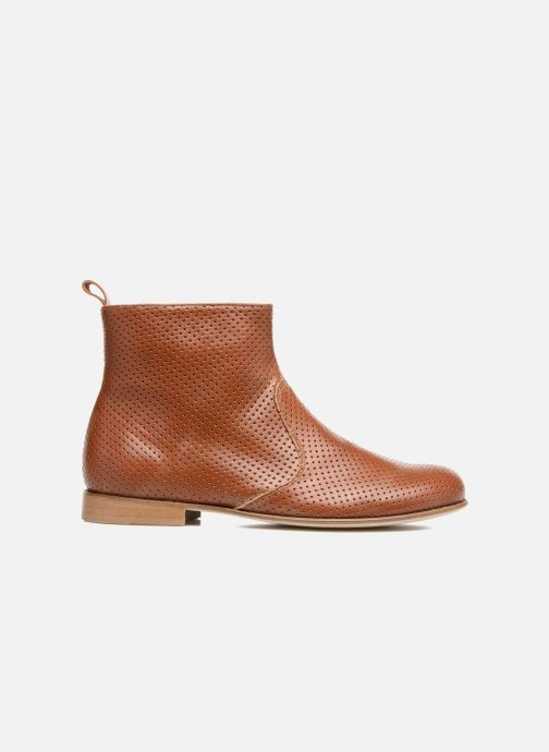 Boots en enkellaarsjes PèPè Zoé Bruin achterkant