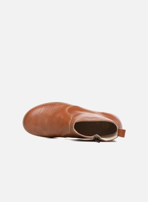 Bottines et boots PèPè Zoé Marron vue gauche