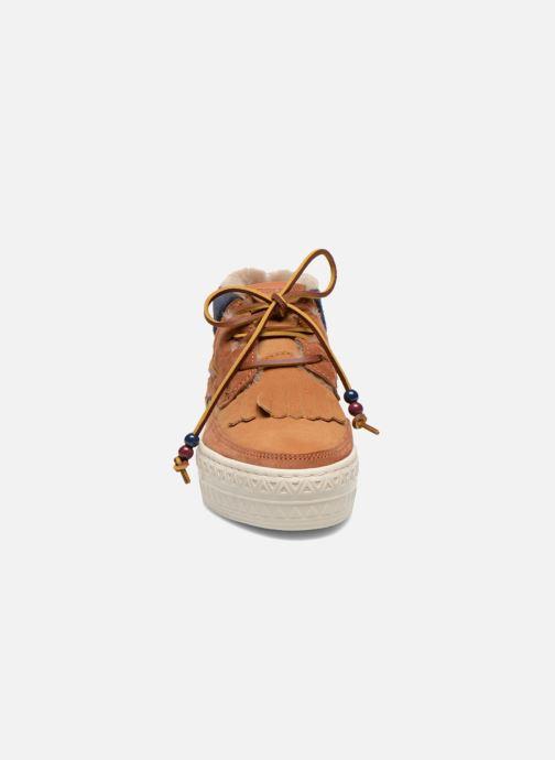 Chaussures à lacets Dolfie Mahoe W Marron vue portées chaussures