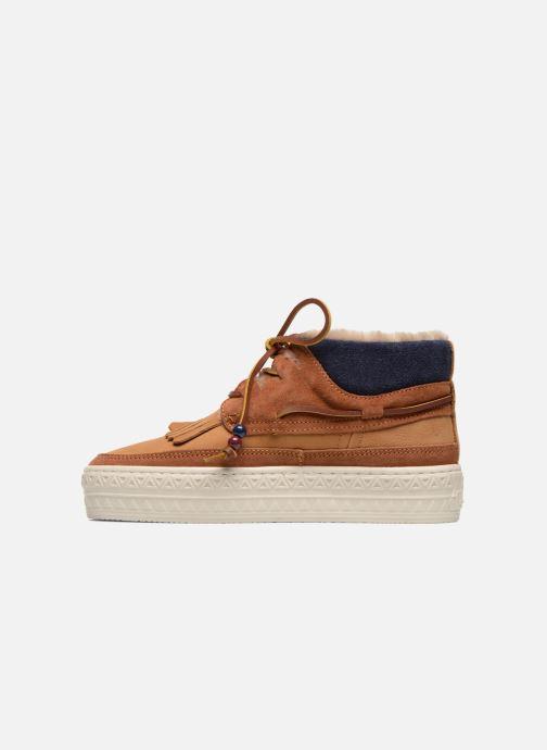 Chaussures à lacets Dolfie Mahoe W Marron vue face