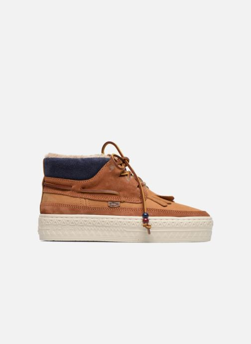 Chaussures à lacets Dolfie Mahoe W Marron vue derrière