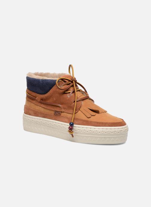 Chaussures à lacets Dolfie Mahoe W Marron vue détail/paire