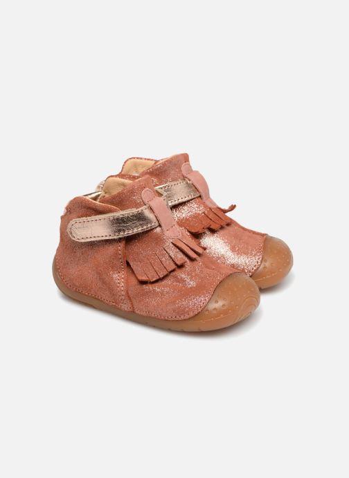 mit Klettverschluss Babybotte Zazie rosa detaillierte ansicht/modell