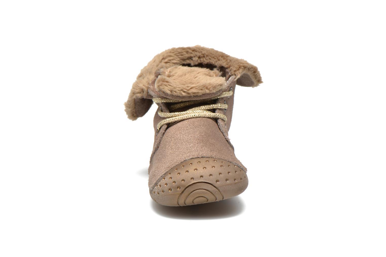 Stiefeletten & Boots Babybotte Zouk1 beige schuhe getragen