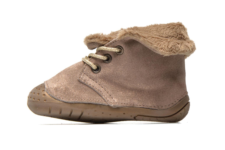 Stiefeletten & Boots Babybotte Zouk1 beige ansicht von vorne