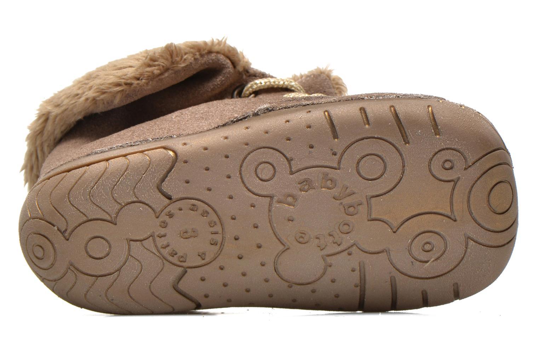 Stiefeletten & Boots Babybotte Zouk1 beige ansicht von oben