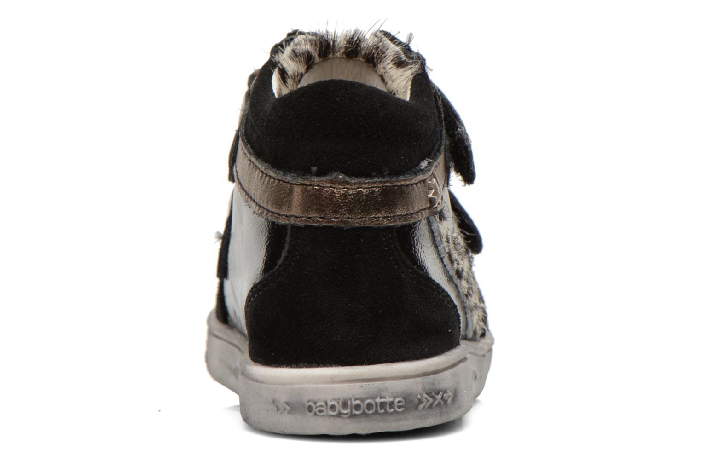 Bottines et boots Babybotte Amily Noir vue droite