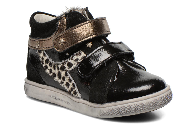 Bottines et boots Babybotte Amily Noir vue détail/paire