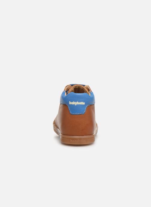 Bottines et boots Babybotte Fidji Marron vue droite
