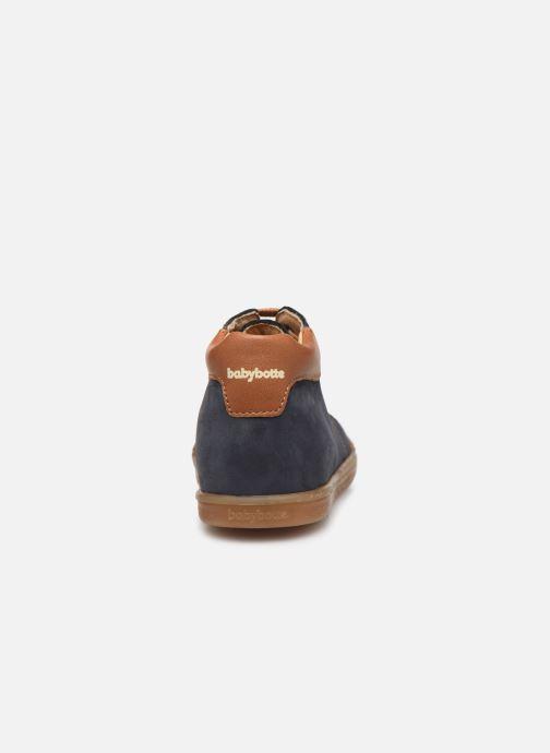 Bottines et boots Babybotte Fidji Bleu vue droite