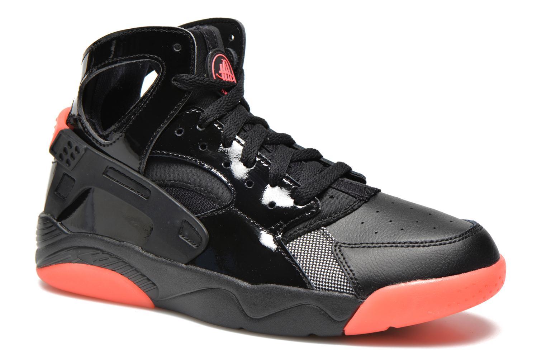 online retailer 12915 f7e97 ... sneakers nike nike flight huarache (gs) svart detaljerad bild på paret