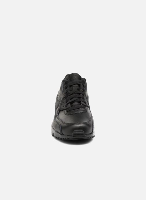 Deportivas Nike Nike Air Max 90 Ltr (Gs) Negro vista del modelo