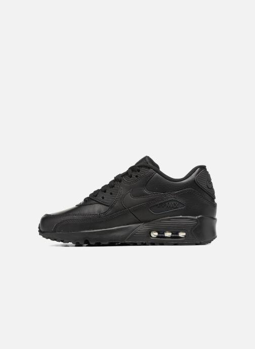 Deportivas Nike Nike Air Max 90 Ltr (Gs) Negro vista de frente