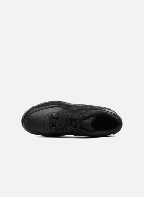 Deportivas Nike Nike Air Max 90 Ltr (Gs) Negro vista lateral izquierda