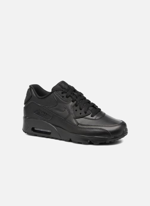 new concept eb1fd cd9a0 Baskets Nike Nike Air Max 90 Ltr (Gs) Noir vue détail paire