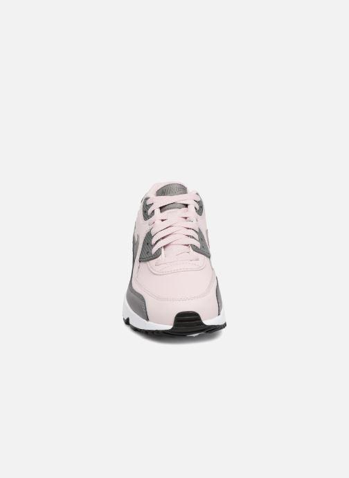 Nike Nike Air Max 90 Ltr (Gs) (Rose) - Baskets chez Sarenza (319805)
