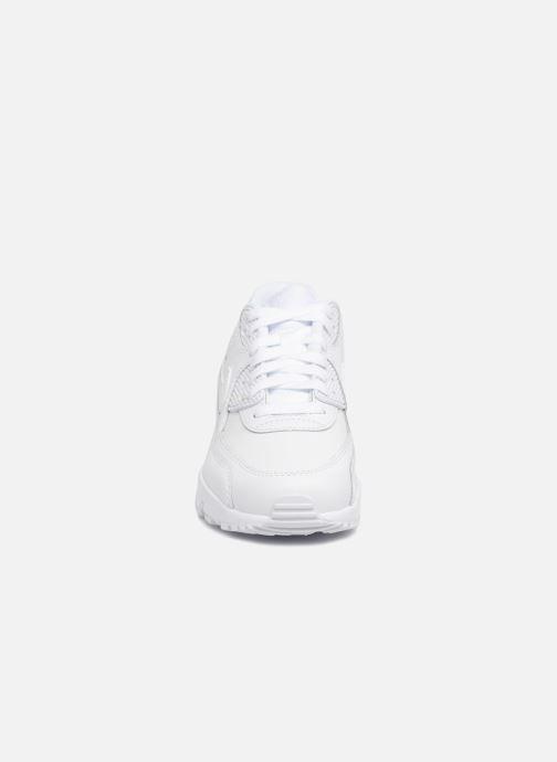 Sneakers Nike Nike Air Max 90 Ltr (Gs) Bianco modello indossato