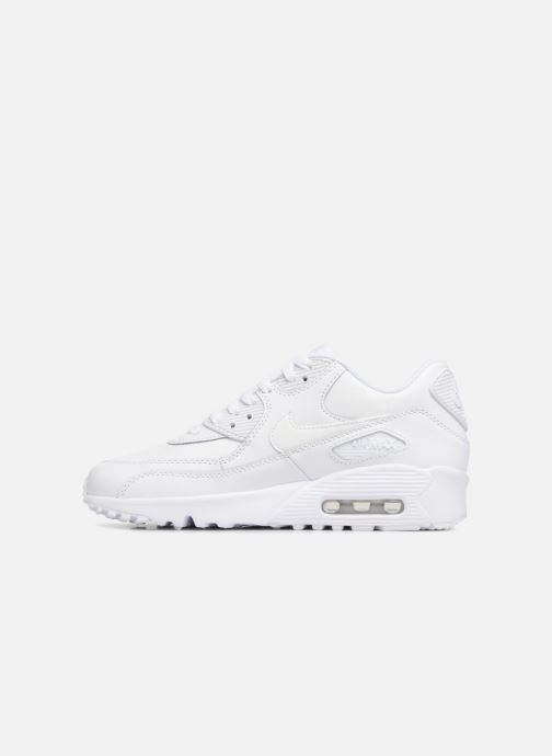 Baskets Nike Nike Air Max 90 Ltr (Gs) Blanc vue face