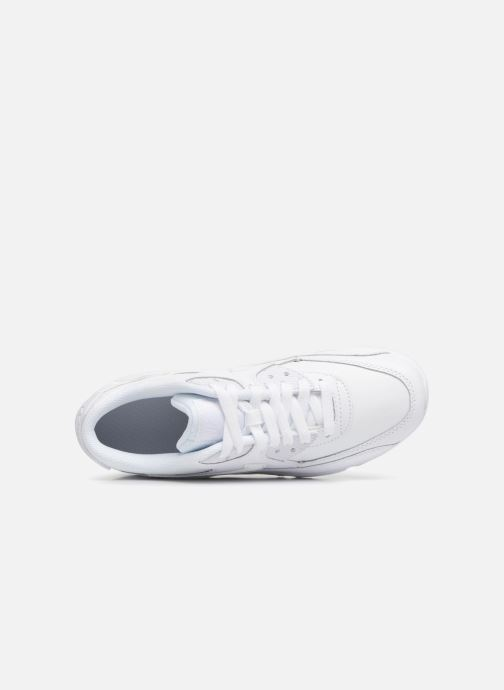Trainers Nike Nike Air Max 90 Ltr (Gs) White view from the left