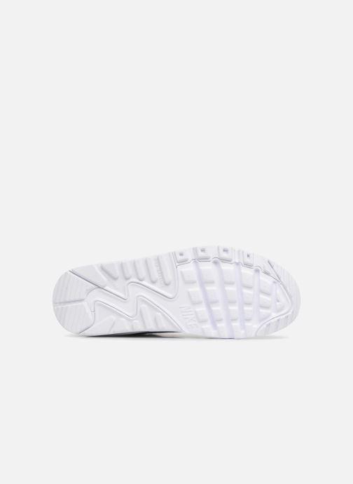 Baskets Nike Nike Air Max 90 Ltr (Gs) Blanc vue haut