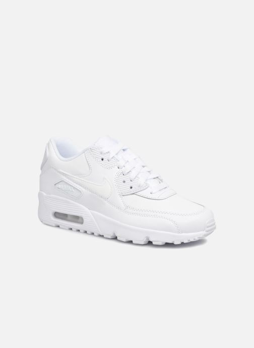 Baskets Nike Nike Air Max 90 Ltr (Gs) Blanc vue détail/paire