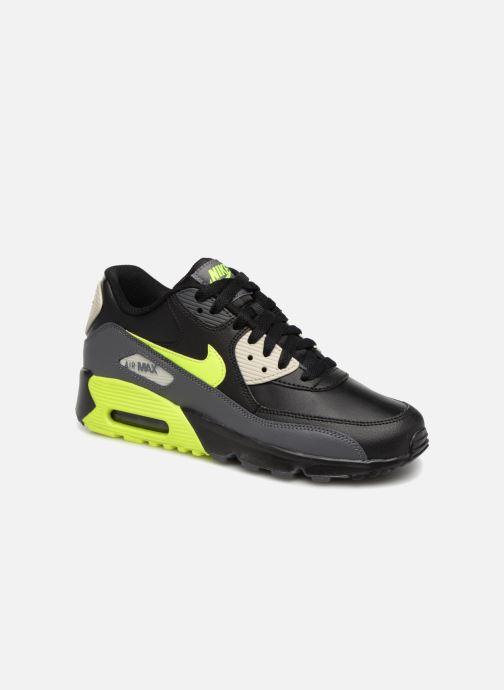 new concept c1b93 a3228 Baskets Nike Nike Air Max 90 Ltr (Gs) Noir vue détail paire