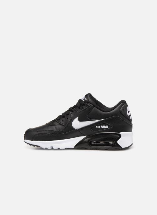 Sneakers Nike Nike Air Max 90 Ltr (Gs) Svart bild från framsidan