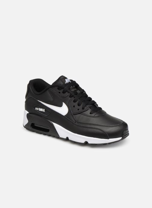 Deportivas Nike Nike Air Max 90 Ltr (Gs) Negro vista de detalle / par
