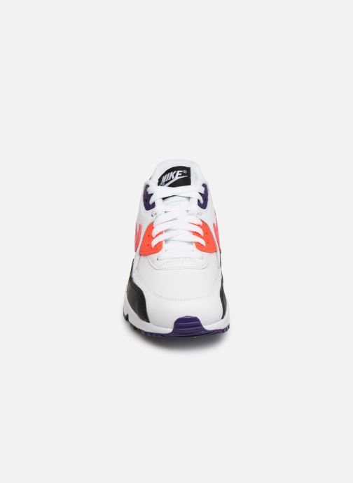 Baskets Nike Nike Air Max 90 Ltr (Gs) Multicolore vue portées chaussures