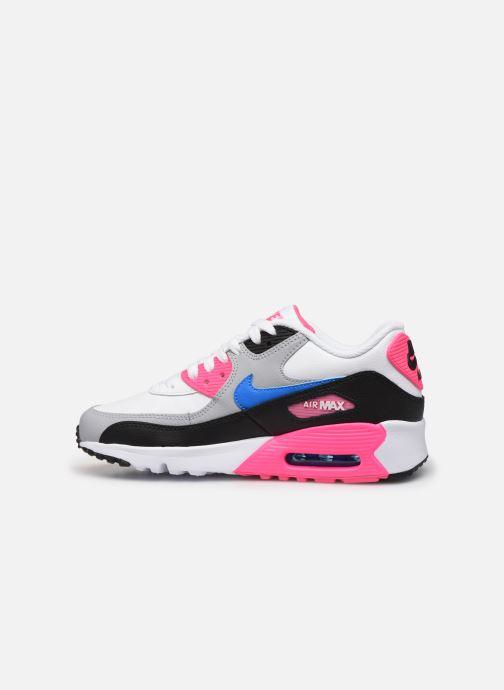 Sneakers Nike Nike Air Max 90 Ltr (Gs) Wit voorkant