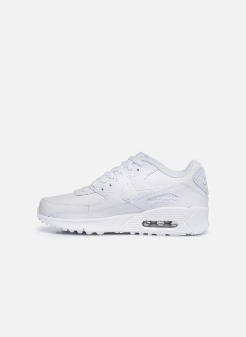 Sneaker Nike Nike Air Max 90 Ltr (Gs) weiß ansicht von vorne