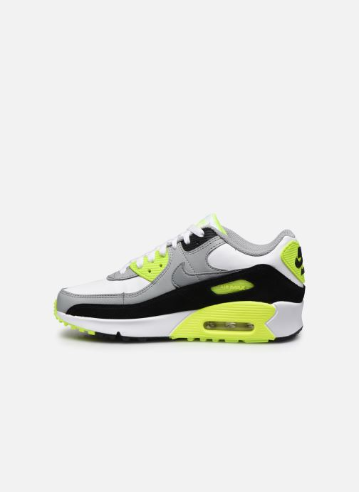 Trainers Nike Nike Air Max 90 Ltr (Gs) Grey front view