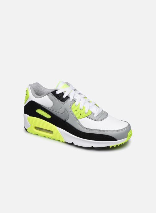 Deportivas Nike Nike Air Max 90 Ltr (Gs) Gris vista de detalle / par