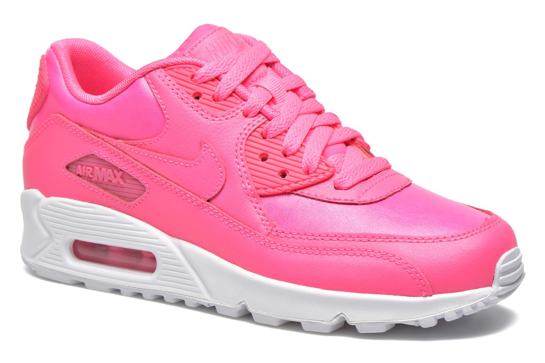 Nike Nike Air (Gs) Max 90 Ltr (Gs) Air (Rose) Baskets Chez Sarenza (229770) 1486ae