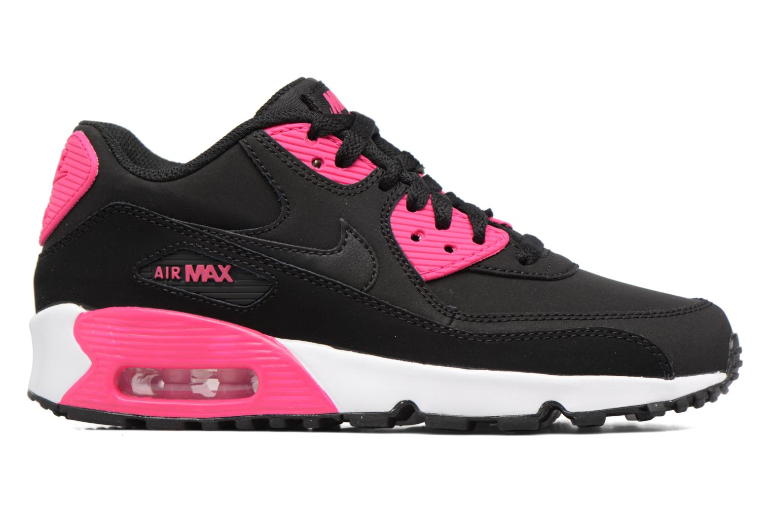 Sneakers Nike Nike Air Max 90 Ltr (Gs) Nero immagine posteriore
