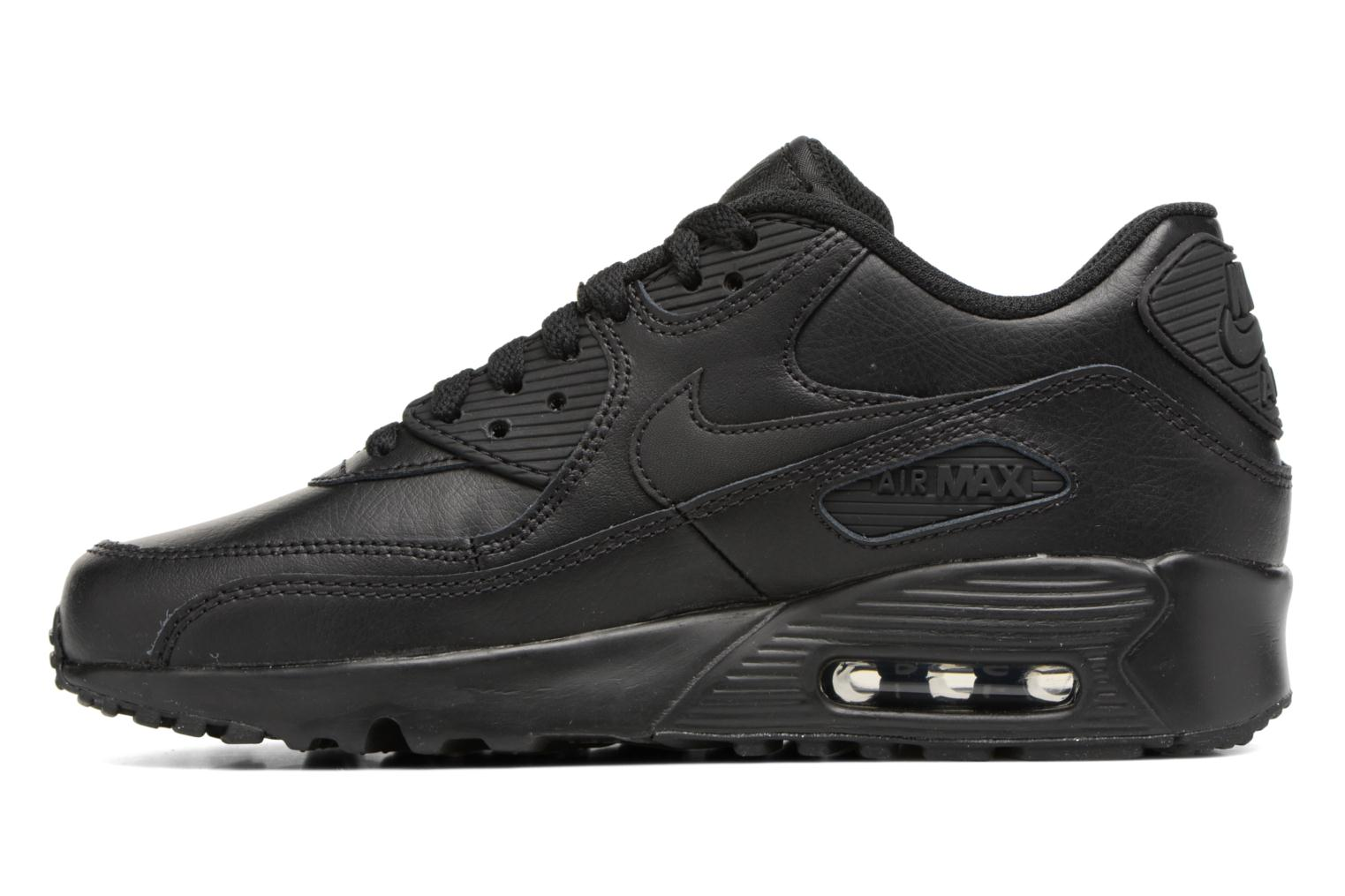 Trainers Nike Nike Air Max 90 Ltr (Gs) Black front view