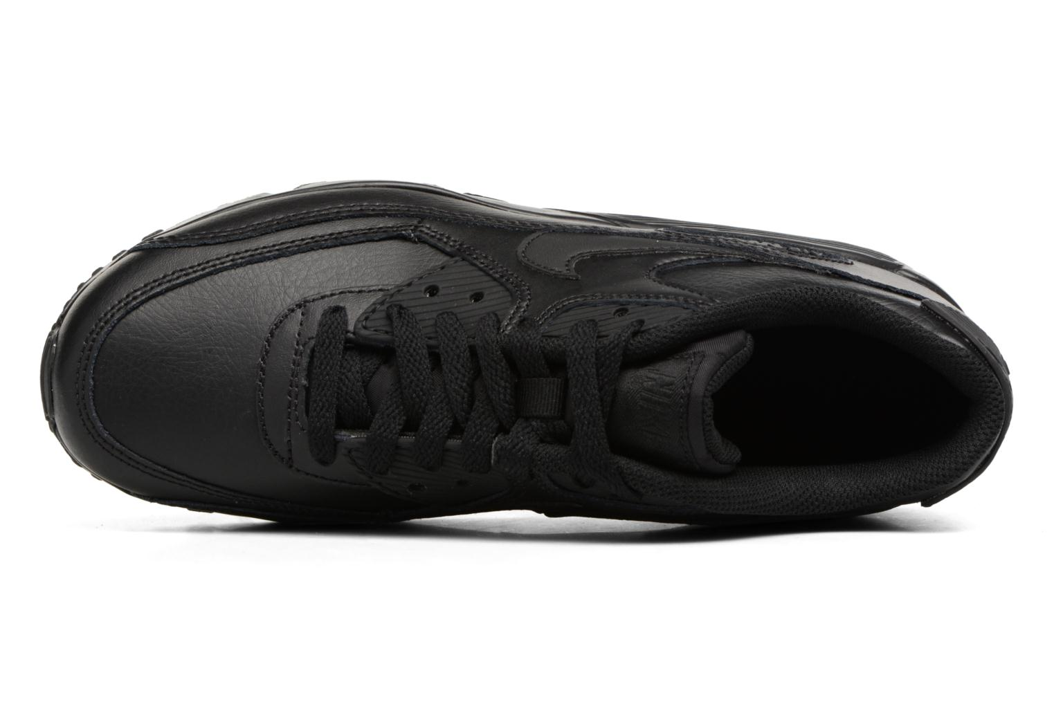 Trainers Nike Nike Air Max 90 Ltr (Gs) Black view from the left