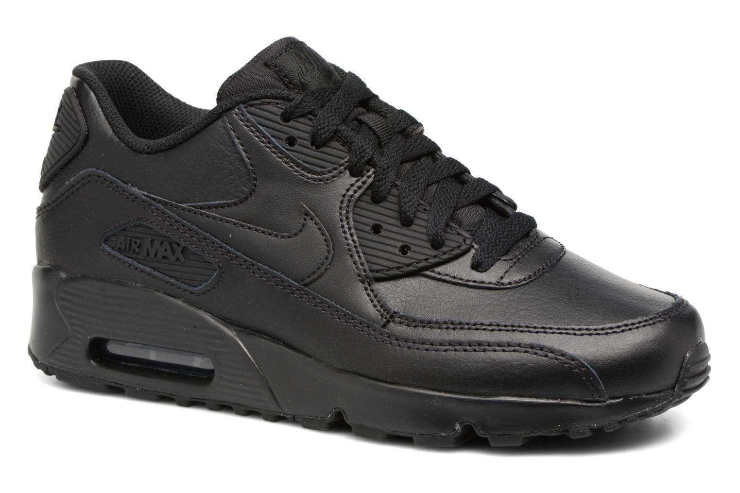 Trainers Nike Nike Air Max 90 Ltr (Gs) Black detailed view/ Pair view