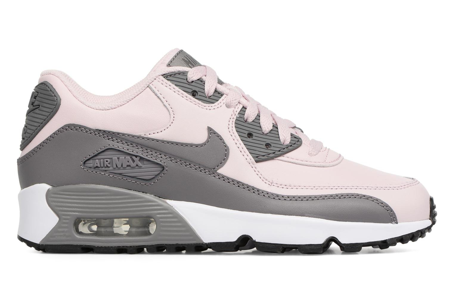 Trainers Nike Nike Air Max 90 Ltr (Gs) Pink back view