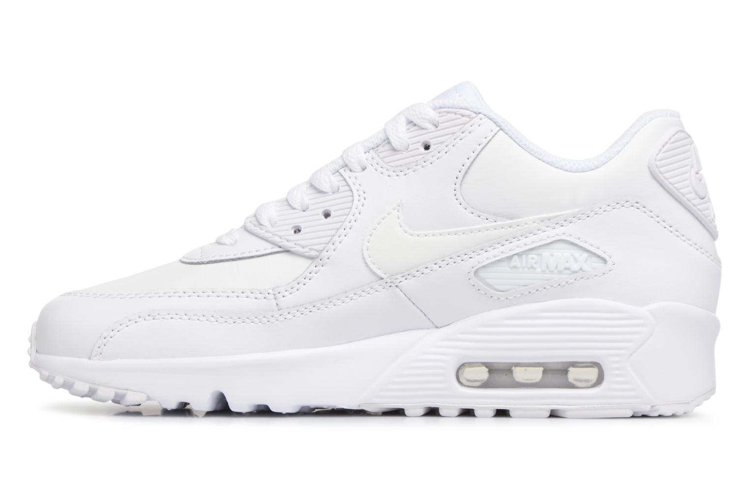 Sneakers Nike Nike Air Max 90 Ltr (Gs) Bianco immagine frontale